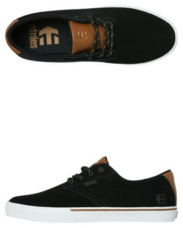 BLACK GOLD MENS FOOTWEAR ETNIES SKATE SHOES - 4101000449970