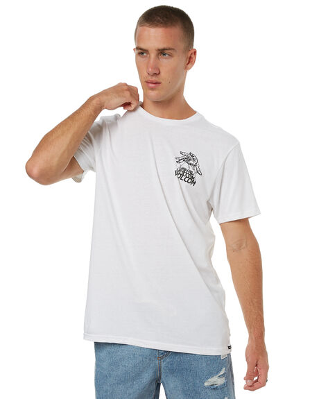 WHITE MENS CLOTHING VOLCOM TEES - A5041770WHT