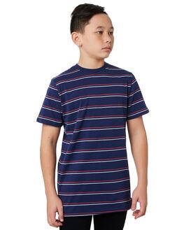 BLUE KIDS BOYS SWELL TOPS - S3193002BLUE