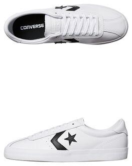BLACK WHITE WOMENS FOOTWEAR CONVERSE SNEAKERS - 157777BLW