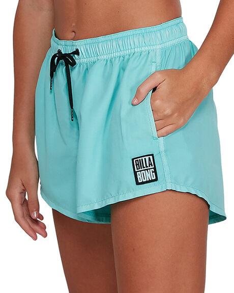 ARUBA BLUE WOMENS CLOTHING BILLABONG SHORTS - BB-6591363-ABA
