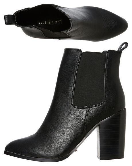 BLACK WOMENS FOOTWEAR BILLINI BOOTS - B796714