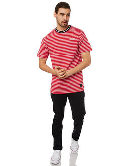 RED MENS CLOTHING ST GOLIATH TEES - 4320043RED
