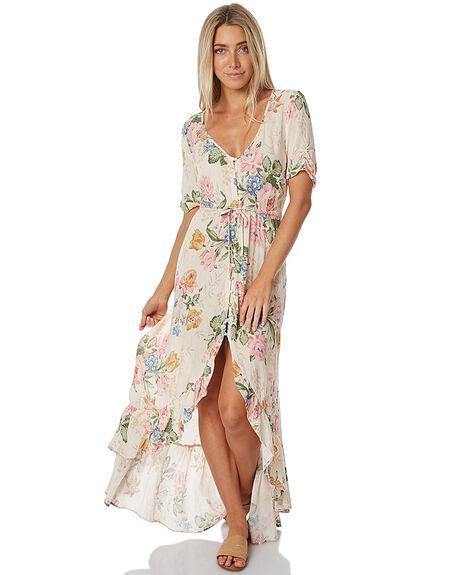 DELILAH BLOOM NATURAL WOMENS CLOTHING AUGUSTE DRESSES - AUG-HN1-17125-DBN