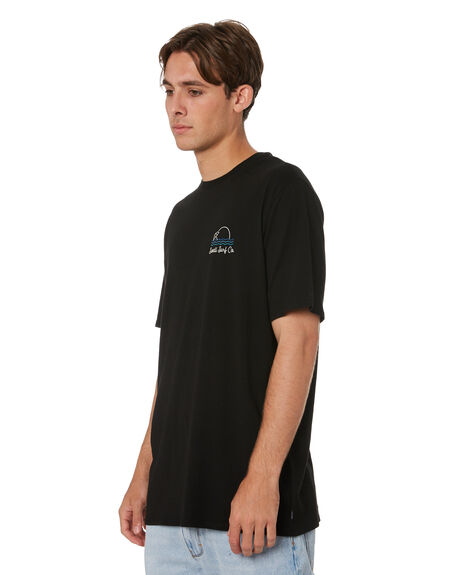 BLACK MENS CLOTHING SWELL TEES - S5213002BLK