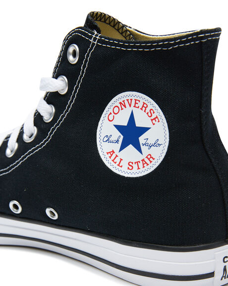 BLACK MENS FOOTWEAR CONVERSE SKATE SHOES - SS19160BLKM