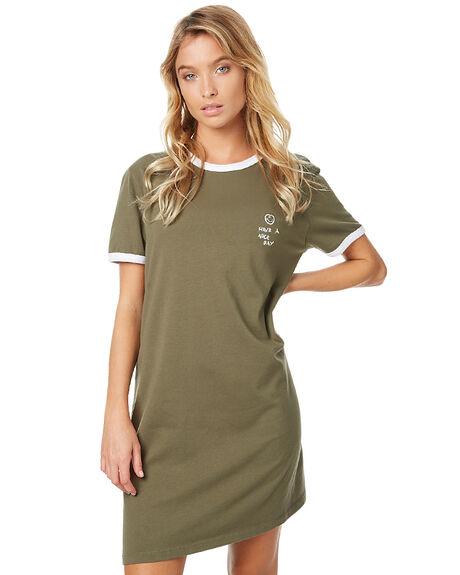COOL MILITARY WOMENS CLOTHING RVCA DRESSES - R2737603CM