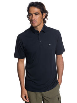 BLACK MENS CLOTHING QUIKSILVER SHIRTS - EQMKT03046-KVJ0