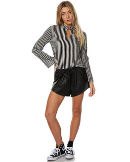 BLACK WOMENS CLOTHING THE FIFTH LABEL SHORTS - TX170335P-SBLK
