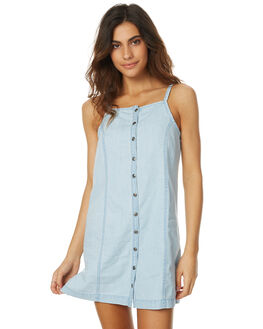 CHAMBRAY WOMENS CLOTHING SWELL DRESSES - S8174447CHAM