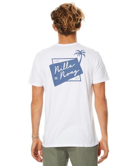 WHITE MENS CLOTHING BILLABONG TEES - 9571064WHT