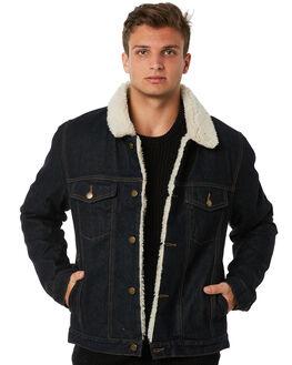 INDIGO RAW MENS CLOTHING ROLLAS JACKETS - 15197259