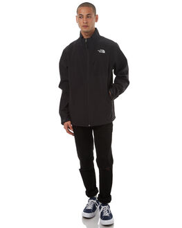 TNF BLACK MENS CLOTHING THE NORTH FACE JACKETS - NF00CUY0KX7