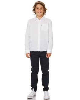 NAVY KIDS BOYS ACADEMY BRAND PANTS - B19S104NVY