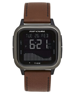 GUNMETAL MENS ACCESSORIES RIP CURL WATCHES - A11450036
