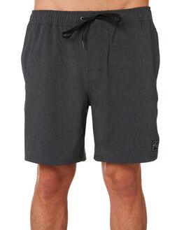 BLACK MENS CLOTHING RUSTY BOARDSHORTS - BSM1356BLK