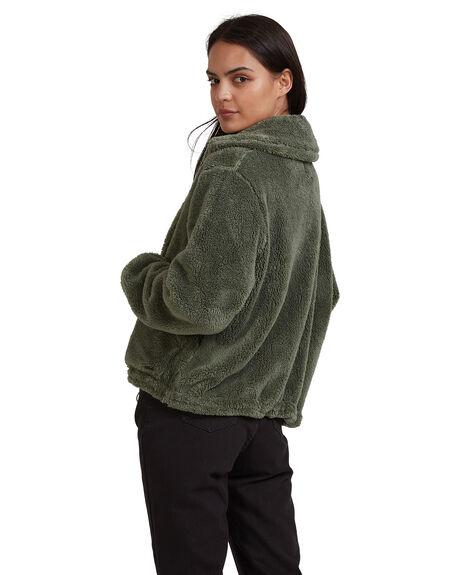 OLIVE WOMENS CLOTHING BILLABONG JACKETS - 6518274-OLV