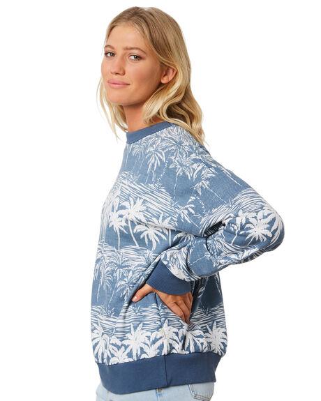 BLUE WOMENS CLOTHING BILLABONG JUMPERS - 6596733BLU