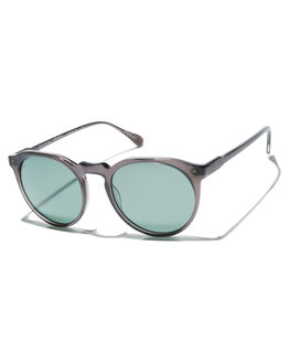 MATTE GREY CRYSTAL MENS ACCESSORIES RAEN SUNGLASSES - 100U161REM-S205-52