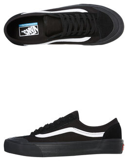 BLACK WOMENS FOOTWEAR VANS SNEAKERS - SSVNA3MVLB8CW