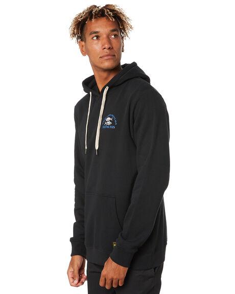 BLACK MENS CLOTHING DEPACTUS JUMPERS - D5203445BLACK
