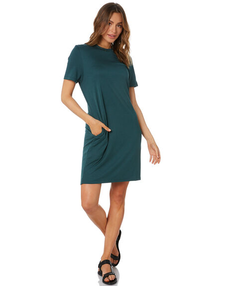 GREEN WOMENS CLOTHING SILENT THEORY DRESSES - 6063037GRN