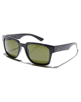 GLOSS BLACK GREY MENS ACCESSORIES ELECTRIC SUNGLASSES - EE17401620GBLKG