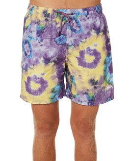 PURPLE MENS CLOTHING STUSSY BOARDSHORTS - ST092617PUR