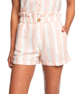 EVENING SAND WOMENS CLOTHING ROXY SHORTS - ERJNS03240-MEZ3