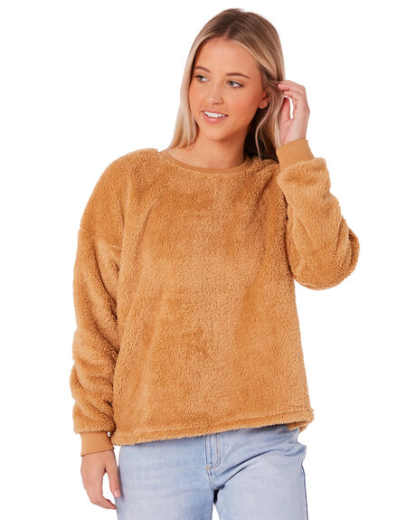 TAN WOMENS CLOTHING ALL ABOUT EVE JUMPERS - 6415044TAN