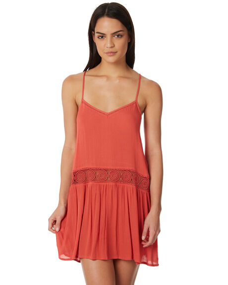 RED OUTLET WOMENS RIP CURL DRESSES - GOVBL10040
