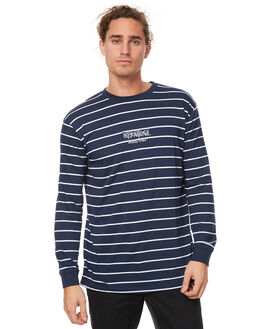 NAVY MENS CLOTHING STUSSY TEES - ST077103NVY