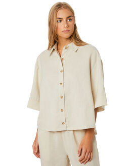 NATURAL WOMENS CLOTHING SWELL FASHION TOPS - S8204166NATRL