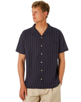 NAVY OUTLET MENS MISFIT SHIRTS - MT092401NAVY