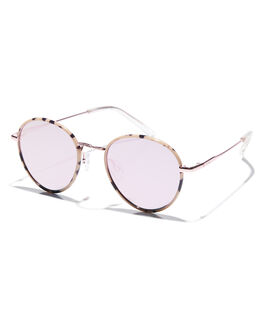 PEACH MIRROR WOMENS ACCESSORIES LE SPECS SUNGLASSES - LSP1902091PCH