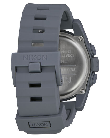 GUNMETAL BLUE MENS ACCESSORIES NIXON WATCHES - A197624