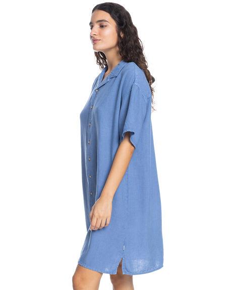 STONE WASH WOMENS CLOTHING QUIKSILVER DRESSES - EQWWD03021-BKJ0