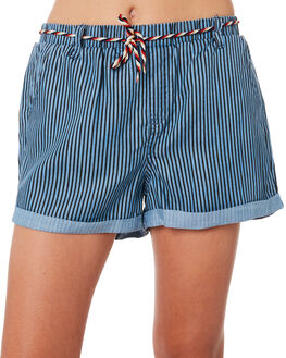 BLUE NAVY STRIPE KIDS GIRLS EVES SISTER SHORTS + SKIRTS - 9920010BLNV