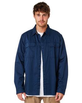 STONE BLUE MENS CLOTHING PATAGONIA SHIRTS - 53700SNBL