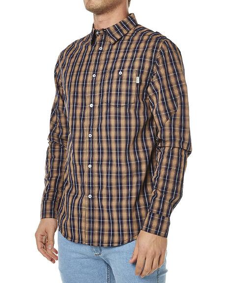 NAVY MENS CLOTHING RHYTHM SHIRTS - OCT16-WS02-NAV