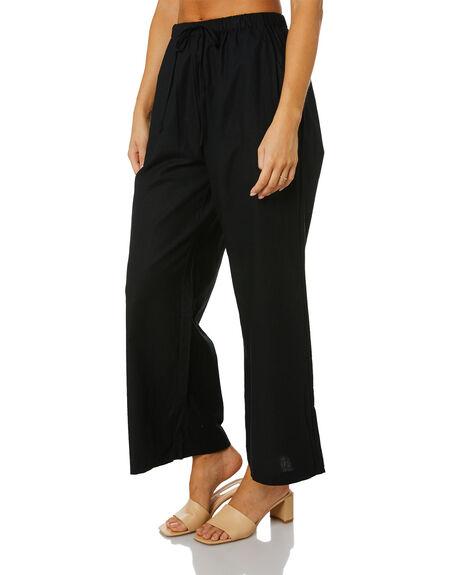 BLACK WOMENS CLOTHING SNDYS PANTS - SEP200BLK
