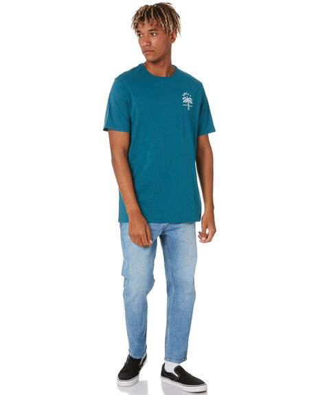 BAYOU BLUE MENS CLOTHING SWELL TEES - S5202006BAYBL