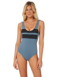 CELESTIAL TEAL OUTLET WOMENS HURLEY ONE PIECES - 941932-403