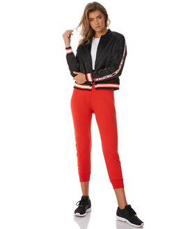 BLACK WOMENS CLOTHING THE UPSIDE JACKETS - UPL1851BLK