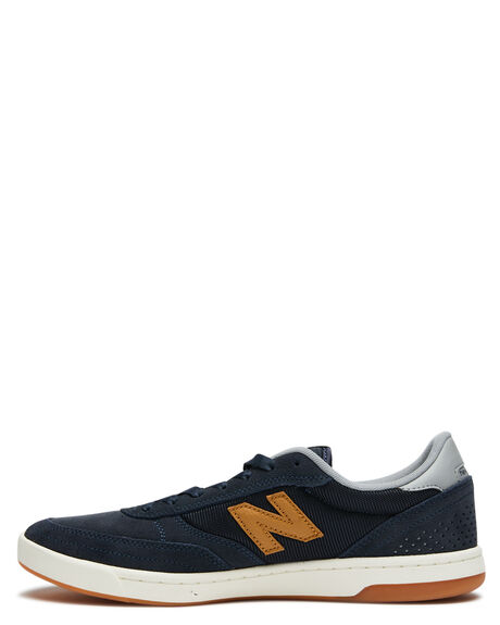 NAVY BROWN MENS FOOTWEAR NEW BALANCE SNEAKERS - NM440BLTNVYB