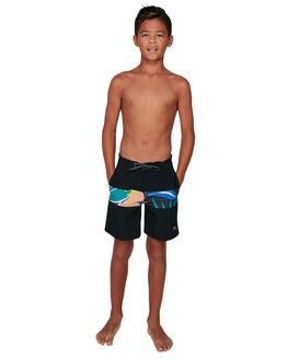 BLACK KIDS BOYS QUIKSILVER BOARDSHORTS - EQBBS03470-KVJ0