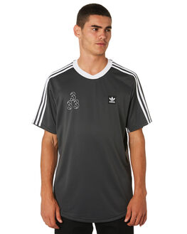 GRANITE WHITE BLACK MENS CLOTHING ADIDAS TEES - DU8395BLKWG
