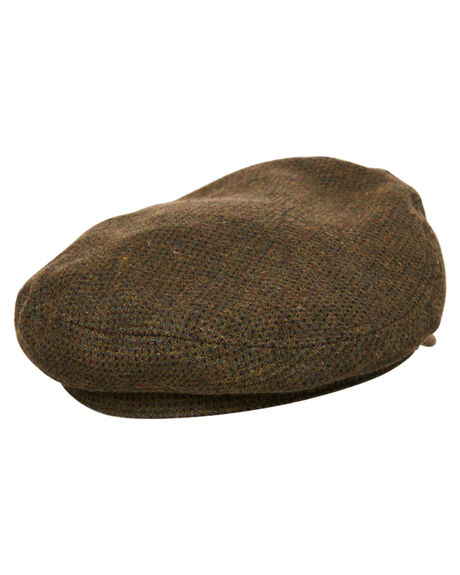 MOSS BROWN MENS ACCESSORIES BRIXTON HEADWEAR - 00004MSBRN