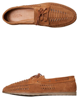TAN MENS FOOTWEAR URGE FASHION SHOES - URG17039TAN