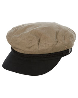 DARK OLIVE MENS ACCESSORIES RUSTY HEADWEAR - HHM0436DAO